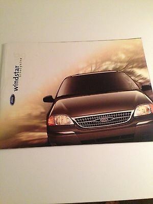 1999 Ford Windstar 22-page Original Sales Brochure