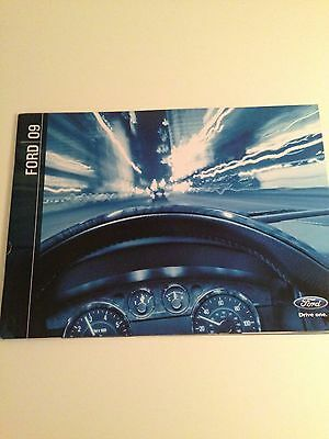 2009 Ford Full Line 32-page Original Sales Brochure