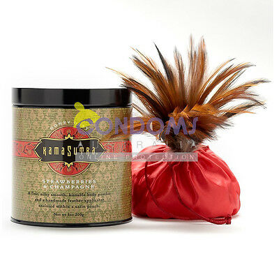 Kama Sutra Honey Dust Body Powder - Strawberry Dreams 200g