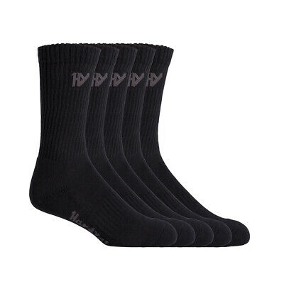 New! Fxd 5 Pack Padded Ankle Socks Assorted Colours