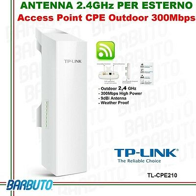 Access Point/antenna Wireless Outdoor Cpe Tp Link 2,4Ghz  High Power Cpe210