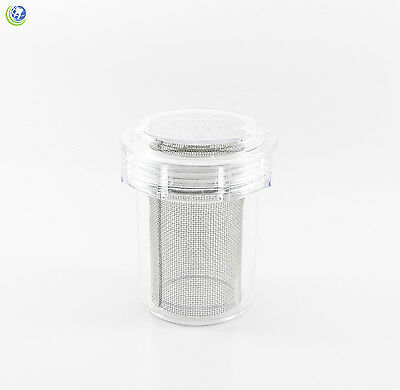 Dental Disposable Evacuation Canister DC8-2300 Screen-4-Vac Thick Mesh Plasdent