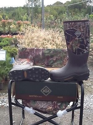 Muck WET-MOB2 Men/'s Brushland Cold Conditions Hunting Boot Mossy Oak Bottomland