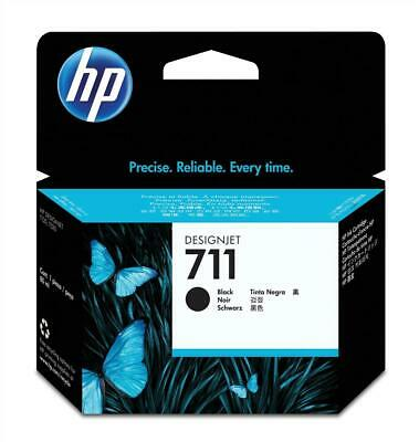 HP 711 (Volume: 80ml) Black Ink Cartridge