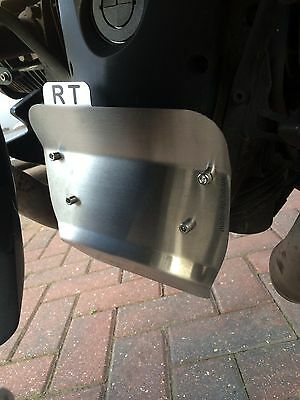 BMW R1200RT R 1200 RT Front Case Plate, Crud Catcher