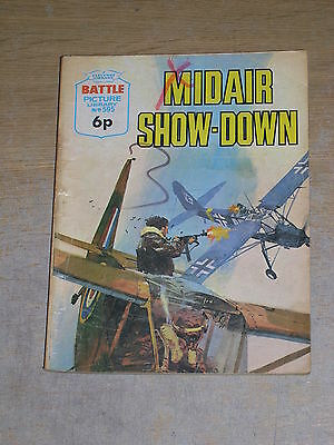 Battle Picture Library No 595 Midair Show Down