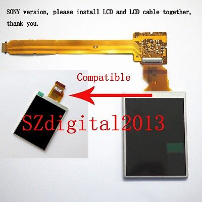 LCD Display Screen For SONY DSLR A200 A300 A350 Alpha Camera (SONY Version)