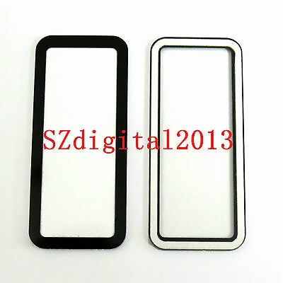 Top Outer LCD Display Window Glass Cover (Acrylic)+TAPE For Canon EOS 5D Repair