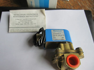Honeywell / Skinner 706N4B1A Electric Valve 120vac 1/2ips in/out (New)