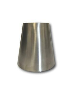 "EXHAUST  ADAPTOR/REDUCER   STAINLESS STEEL (316) 3"" x 2 1/2"""