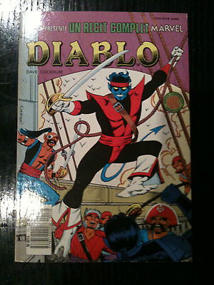 "Recit Complet Marvel N° 17 ""diablo""-Cockrum-Ed° Lug 1988"