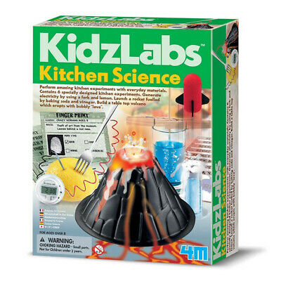 Kitchen Science Kit by Kidz Labs - Children's Kitchen Science Experiment Set