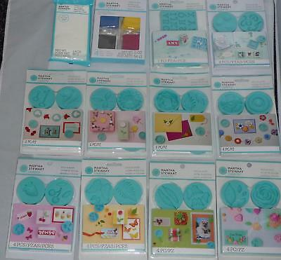Martha Stewart Silicone Mould Molds & Clay make  Embellishments for cards etc