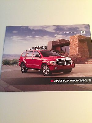 2006 Dodge Durango Accessories 12-page Dealer Brochure