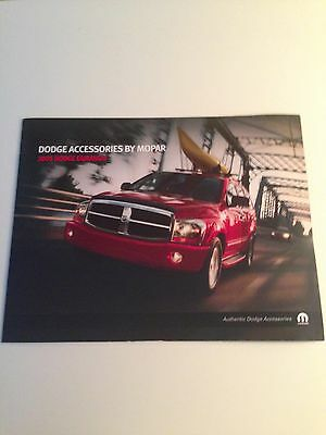 2005 Dodge Durango Accessories 12-page Dealer Brochure