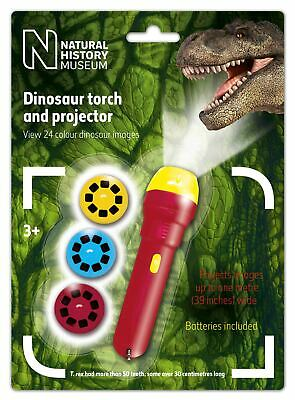 Natural History Museum Dinosaur Torch and Projector - Children's Dinosaur Torch
