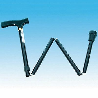 Walking Stick-Folding & Adjustable With Hand Strap.light In Weight & Goodquality