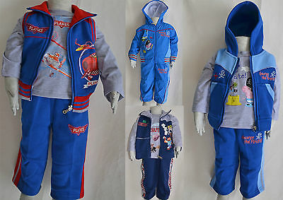 Boy Geo Planes Winter Outfits Size 1,2,3,4,5,6,8,10