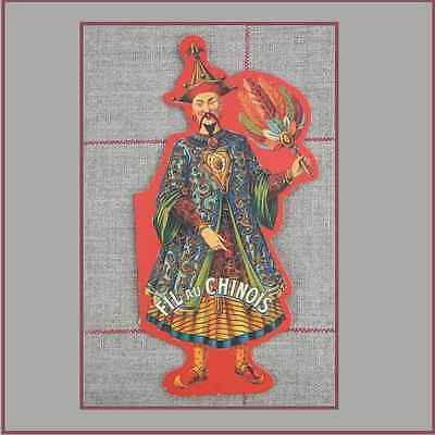 "Sajou Reproduction Vintage Needle Card  ""Fil Au Chinois"" Tapestry Needles"