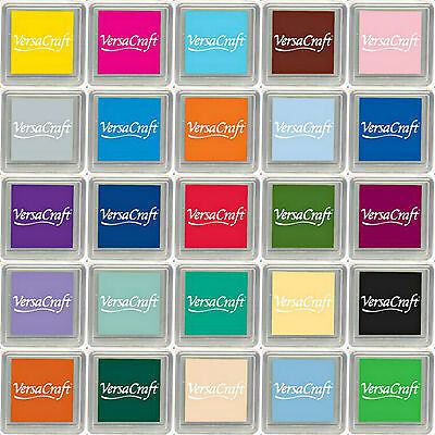Versacraft Ink Pad Small Cube Pigment Ink Pads. Choice Of Colours. Free Postage