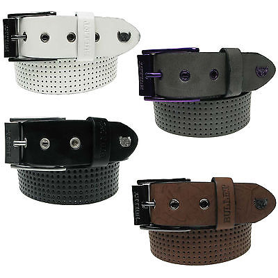 Mens Leather Lined Jeans Belt