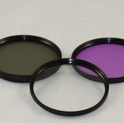40.5mm 3 Piece Filter KIT For  Sony  SELP1650 16-50mm Power Zoom UV CPL FLD 1650