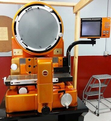 Kodak 14-2A optical comparator refurbished with QC-100 and choice of 3 lenses