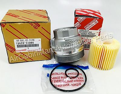 NEW GENUINE TOYOTA Housing Cap  Holder with Oil Filter   15620-31060