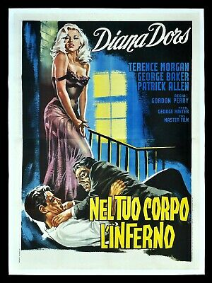 TREAD SOFTLY STRANGER CineMasterpieces DIANA DORS ITALIAN HUGE MOVIE POSTER 1960