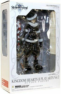 *NEW* Kingdom Hearts 2 Sora Xmas Ver Play Arts Action Figure