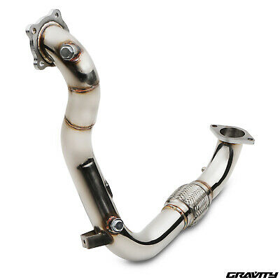 Stainless Exhaust Decat De Cat Pipe For Ford Fiesta 1.0 Ecoboost Zetec S 11-15