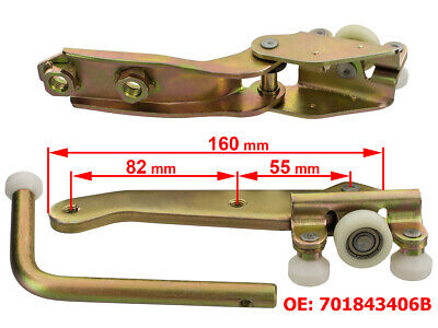 Lhd -- Vw T4 90-04 Right Sliding Door Roller Middle Top Bottom Set New