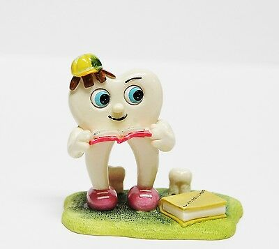 Dental Tooth Molar Bookworm Pen Card Holder Figurine Decoration - Molar Series