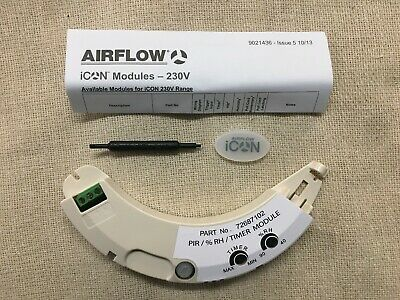 Airflow 72687102 Pir / Humidity / Timer Module Formerly 72573901