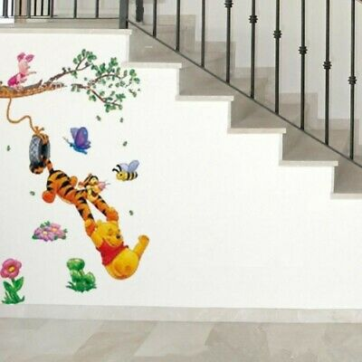 disney Winnie the pooh WALL STICKER NURSERY/KIDS/GIRLS/BOYS ROOM