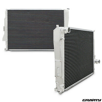 42mm ALUMINIUM ALLOY RACE SPORT ENGINE RADIATOR RAD FOR BMW 3 SERIES E46 M3