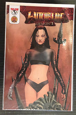Witchblade Demon #1 Dynamic Forces Variant NM 1st Print Top Cow Comics CoA Incl