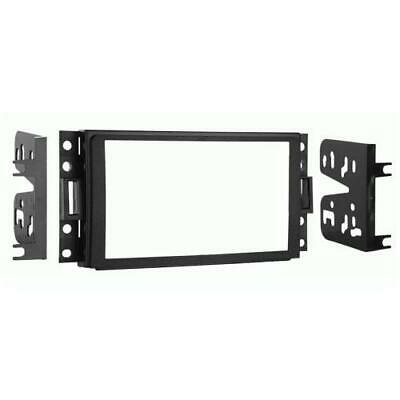 Metra 95-3304 Double DIN Stereo Installation Dash Kit for 2006-2009 Hummer H3