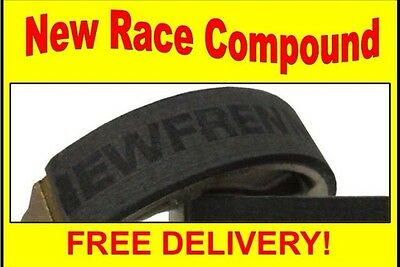 Lambretta Gp 200 Brake Shoes - Updated With New Race Compound - Gp Type (Le12252