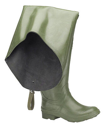 Stormwell Thigh Fishing Waders In Green Waterproof Trousers & Wellington Boots