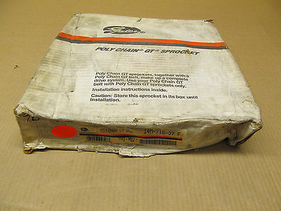 1 Nib Gates 14M-71S-37 F 14M71S37F Poly Chain Gt Sprocket 77273071