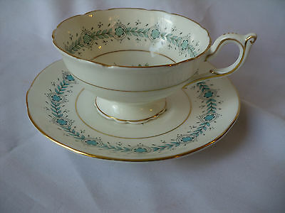 Vintage Coalport Geneva Bone China Made In England Cup And Saucer