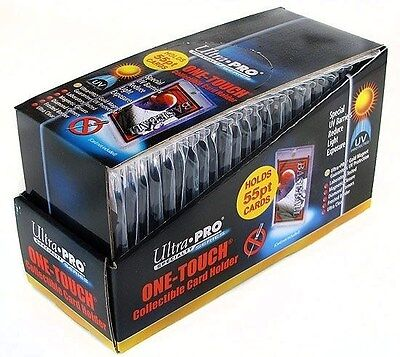 Ultra Pro 1 One Touch Magnetic Card Holders ~ 55pt 1 Box ( 25 )