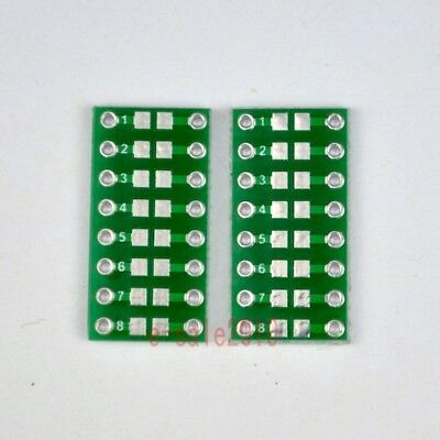 20pcs SMD/SMT Components 0805 0603 0402 to DIP Adapter PCB Board Converter F41A