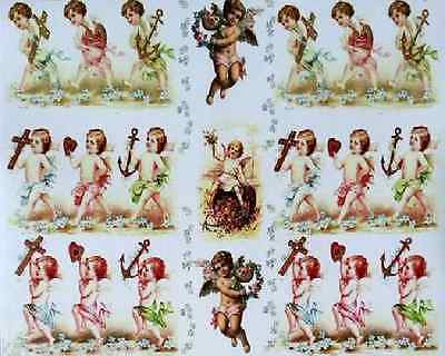 Classic Decoupage Paper / Angels / Craft Paper / Decoupage Sheets
