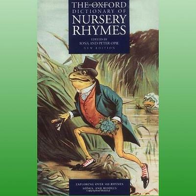Oxford Dictionary of Nursery Rhymes