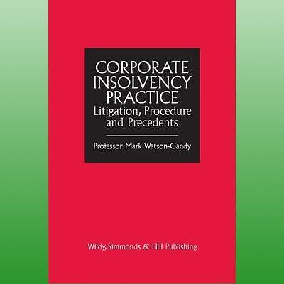 Corporate Insolvency Practice by WatsonGandy Mark