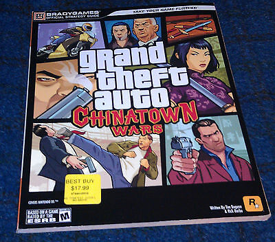Grand Theft Auto Chinatown Wars Official Strategy Game Guide *BRAND NEW*