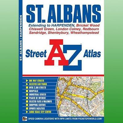 St Albans Street Atlas by Geographers AZ Map Company