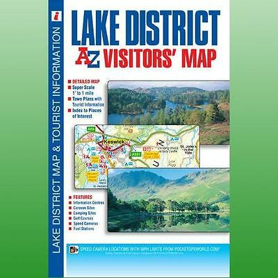 Lake District Visitors Map by Geographers AZ Map Company
